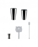 Lunar Eclipse Boston shaker set, Alessi